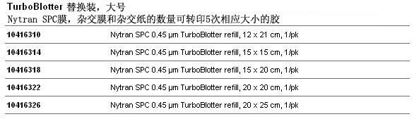 Whatman TurboBlotter 快速核酸转印系统
